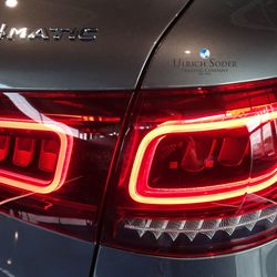 new GLC tail lights