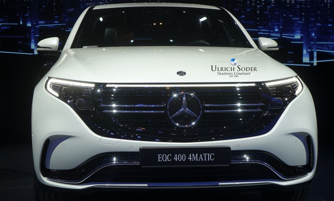 Mercedes EQC 400 4matic with AMG line