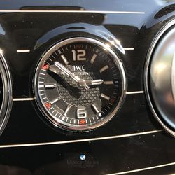 Mercedes Maybach S-Class IWC watch