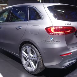 Mercedes B-Class with 19 inch wheels
