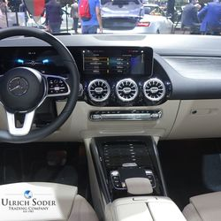Mercedes B-Class with MBUX system
