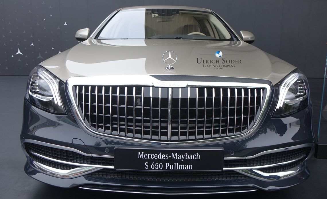 Mercedes Maybach S 650 Pullman