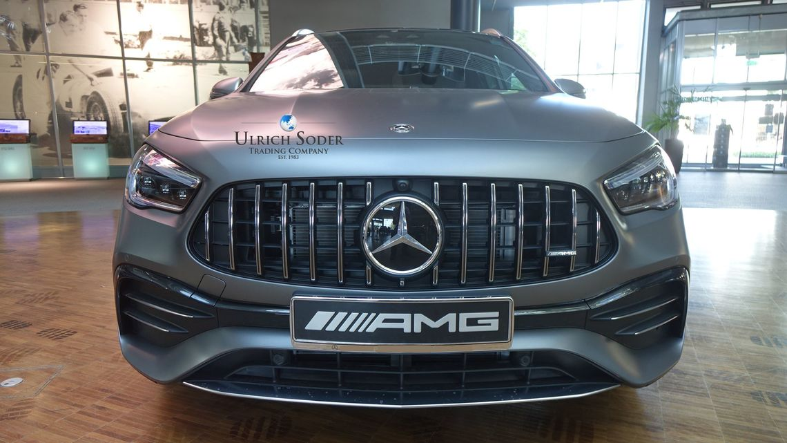Mercedes-AMG GLA 35 4matic with 306 hp