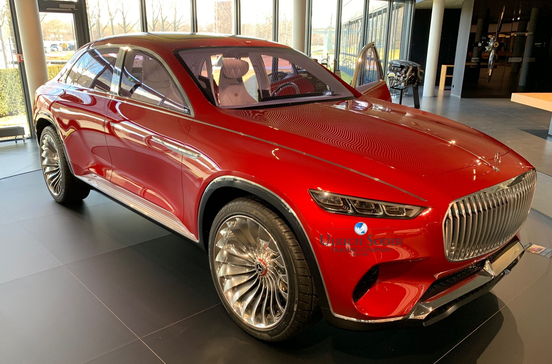 Order Start Of The New Mercedes Maybach Gls 600 4matic Luxury Cars Export Germany
