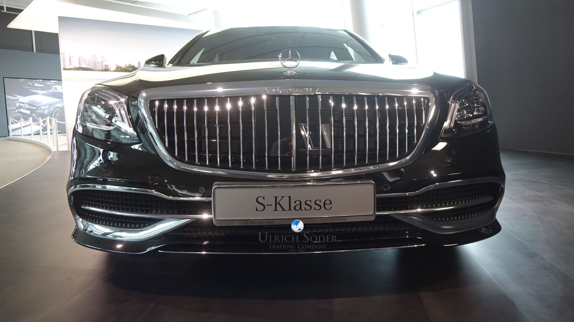 mercedes  class maybach facelift   luxury cars export germany